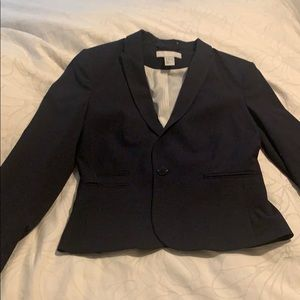 H&M Navy pants suit